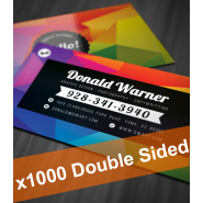 1000 Colour Business Cards (2 sides)